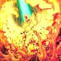 Foto embestida de los reyes de fuego