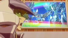 Jack observando el Duelo final de Yuya