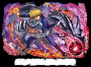 Joey y Dragón Negro de Ojos Rojos (colaboración con Puzzle & Dragons)