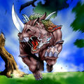 Foto bestia loca de la espada