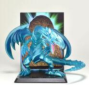 Dragón Blanco de Ojos Azules Figura