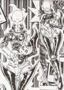 Necrofear Oscuro en el Manga