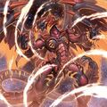 Foto tirano dragón rojo archidemonio