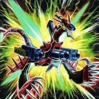 Foto dragón triple explosión