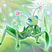Foto mantis naturia