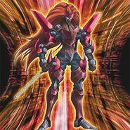 Foto número 12 ninja de la armadura de sombras carmesí - zexal