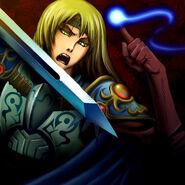 Foto neo, el espadachín mágico