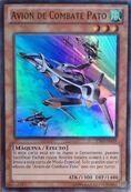 Avión de combate pato