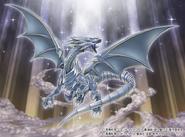 Dragón Blanco de Ojos Azules (ilustración promocional)