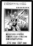 HÉROE Elemental Cero Absoluto (Carta-Manga)