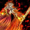Foto princesa de fuego