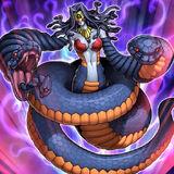 Foto vennominaga, dios de las serpientes venenosas ocg