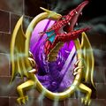 Foto espejo de dragón