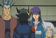 Yusei se despide de amigos de la Instalación