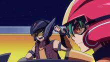 Cuervo y Yuya durante su Duelo