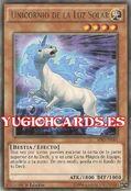 Unicornio de la luz solar