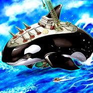 Foto orca mega-fortaleza de la oscuridad