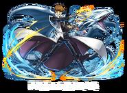 Seto Kaiba y Dragón Blanco de Ojos Azules (colaboración con Puzzle & Dragons)