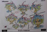 Cara de Yuya poseído arte conceptual 2