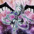 Foto malicioso dragón de polvo de estrellas
