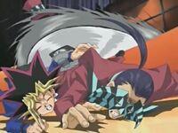 Yugi salva a Arkana