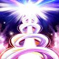 Foto espiral de luz