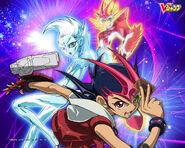 Yu-Gi-Oh! ZEXAL - fondo de pantalla V-Jump