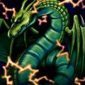Foto dragón de trueno