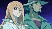 Kazuma y Mira en el Mundo Astral