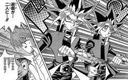 Yugi y Atem son separados en cuerpos diferentes