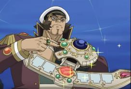 Almirante con Disco de Duelo