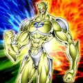 Foto héroe elemental electrum