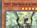 Tempest, Señor Dragón de las Tormentas