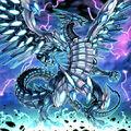 Foto dragón caos máximo de ojos azules