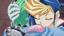 Yugo reunido con Rin