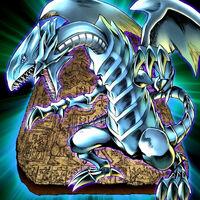Foto dragón blanco de ojos azules pck