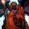 Foto lich lord, rey del inframundo