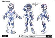 Yuya Turbo Duelo arte conceptual 3
