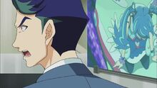 Akira enfadado