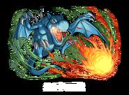 Dragón Alado, Guardián de la Fortaleza 1 (colaboración Puzzle&Dragons)