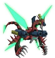 Dragón triple explosión (ilustración promocional)