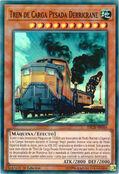 Tren de carga pesada derricrane