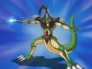 Aligátor de la Espada atacando