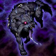 Foto lobo de la plaga