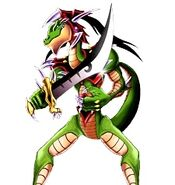 Aligátor de la Espada Duel Links