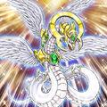 Foto dragón del fin de la luz