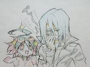 Yuya y Kiryu