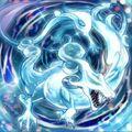 Foto mítico dragón acuático