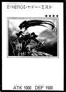 HÉROE Elemental Shadow Mist (manga-carta)
