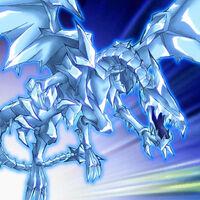 Foto dragón de la noche blanca